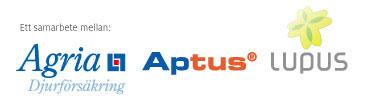 Ett samarbete mellan Agria, Aptus & Lupus